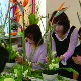 ATELIER YOKOのフラワーアレンジメントの各種教室のご案内です。